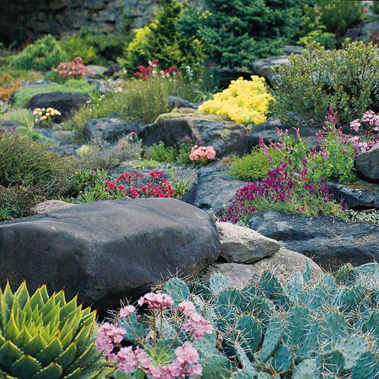 Front Yard Landscaping Ideas With Rocks: Landscaping With Rocks And Stones.